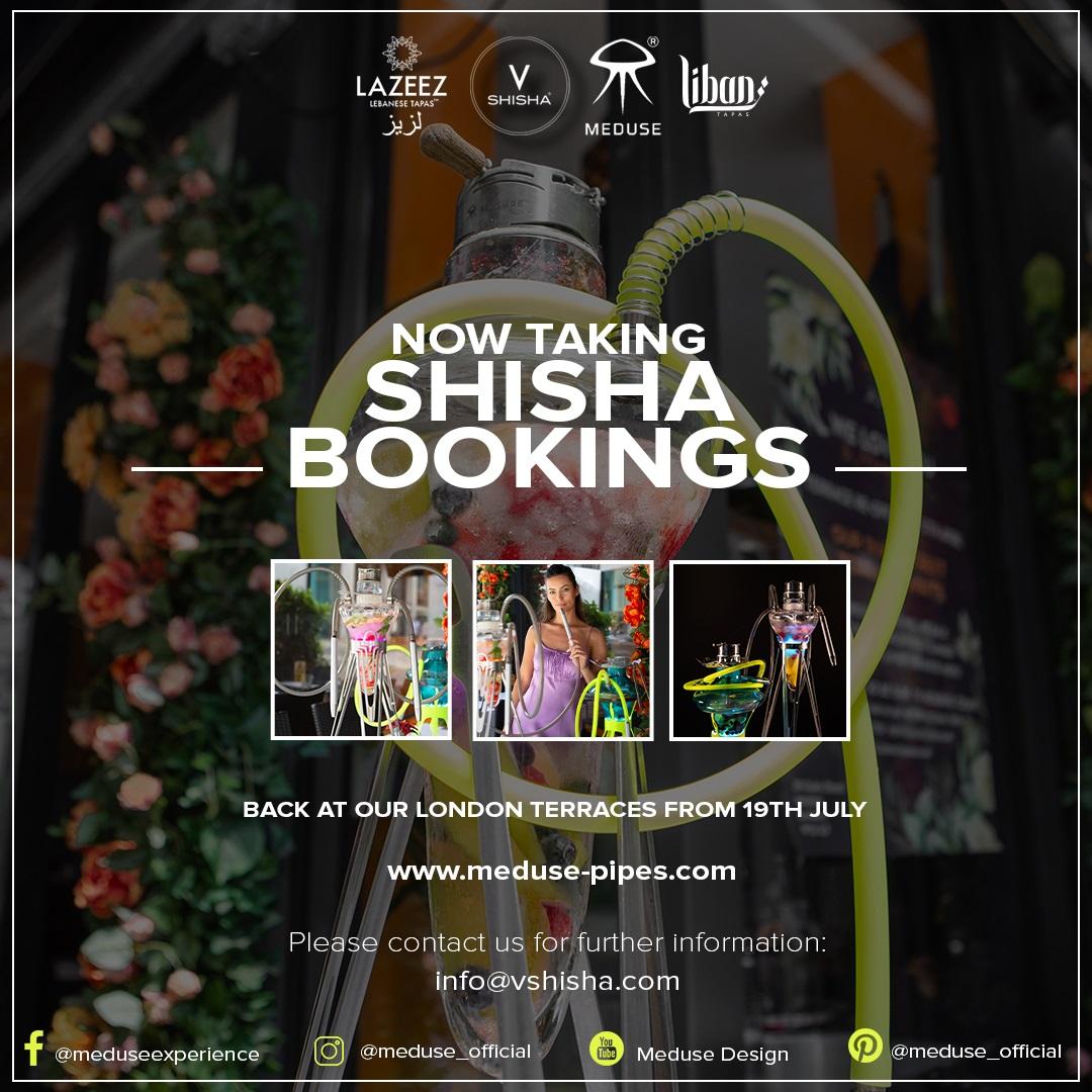 Shisha Bookings Flyer
